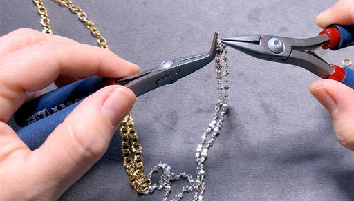 How to Make a Mixed Metal Twisted Chain Necklace