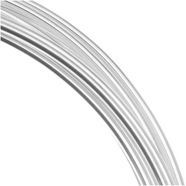 Beadsmith Silver Plated Copper German Bead Wire Craft Wire 18 Gauge 1 Mm 4 Meters 13 1 Feet