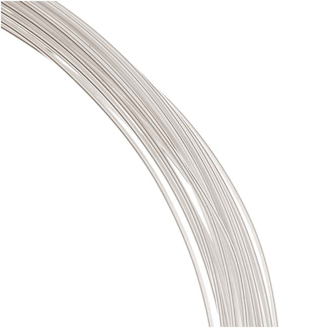 1 Oz. (19 Ft.) Sterling Silver Wire 20 Gauge - Round-Dead Soft