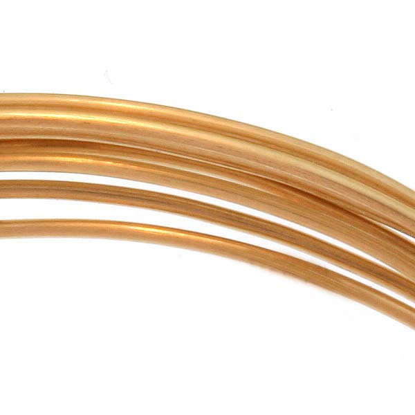 14K Gold Filled Wire 20 Gauge Round Dead Soft 5 Ft