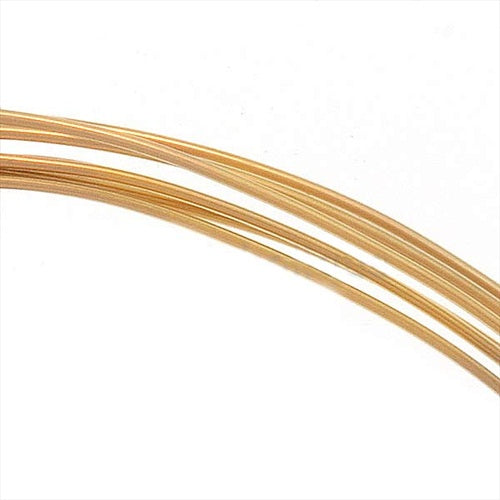 14K Gold Filled Wire 24 Gauge Round Half Hard 5 Ft