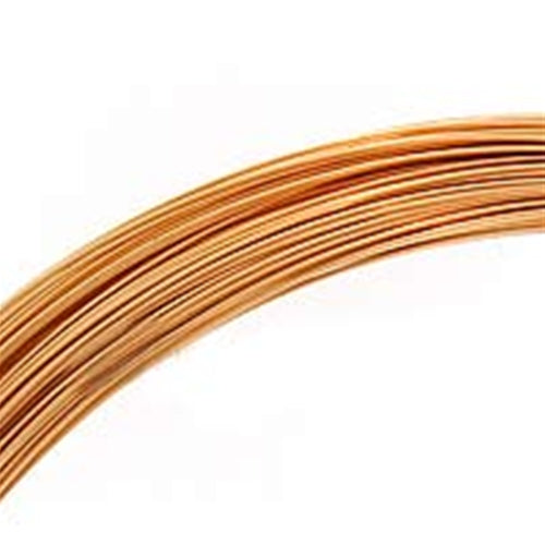 1/2 Oz (41 Ft) Gold Filled Wire 26 Gauge -Round-Half Hard