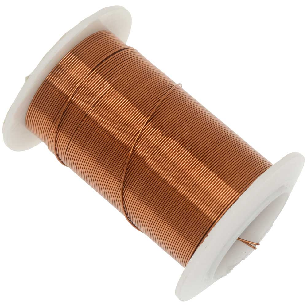 Tarnish Resistant Silver Color Copper Wire 24 Gauge 30 Yards 27.4 Meters
