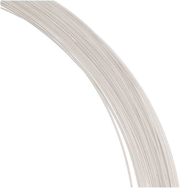 1 Oz. (76 Ft) Sterling Silver Wire 26 Gauge - Round/Half Hard