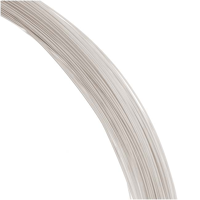1 Oz. (120 Ft.) Sterling Silver Wire 28 Gauge - Round-Dead Soft