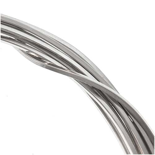 Sterling Silver Wire 20 Gauge Square Half Hard (5 Ft.)