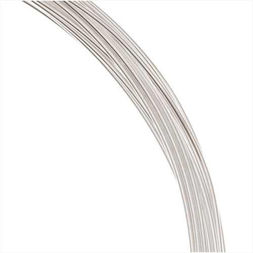 1 Oz. (19 Ft.) Silver Filled Wire 20 Gauge Round Dead Soft