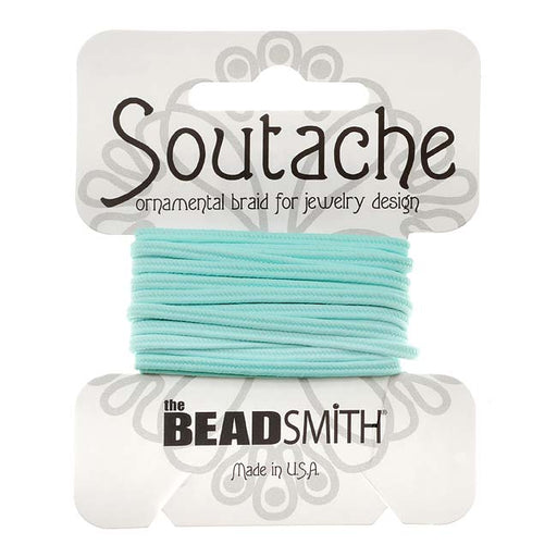 The Beadsmith Soutache Braided Cord 3mm Wide - Marine Blue (3 Yards)
