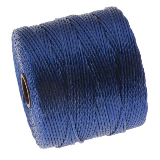 Super-Lon (S-Lon) Cord - Size 18 Twisted Nylon - Capri Blue / 77 Yard Spool