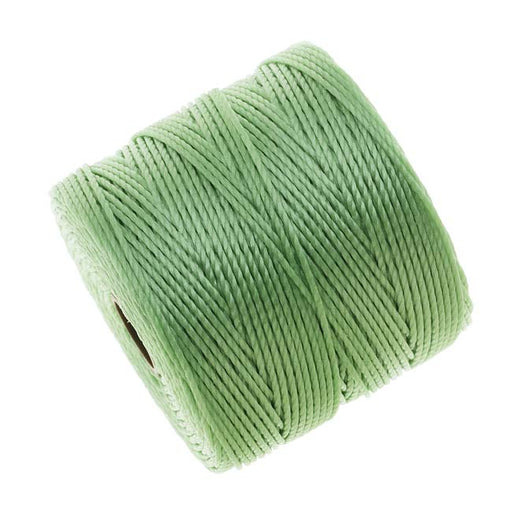 Super-Lon (S-Lon) Cord - Size #18 Twisted Nylon - Mint Green / 77 Yard Spool