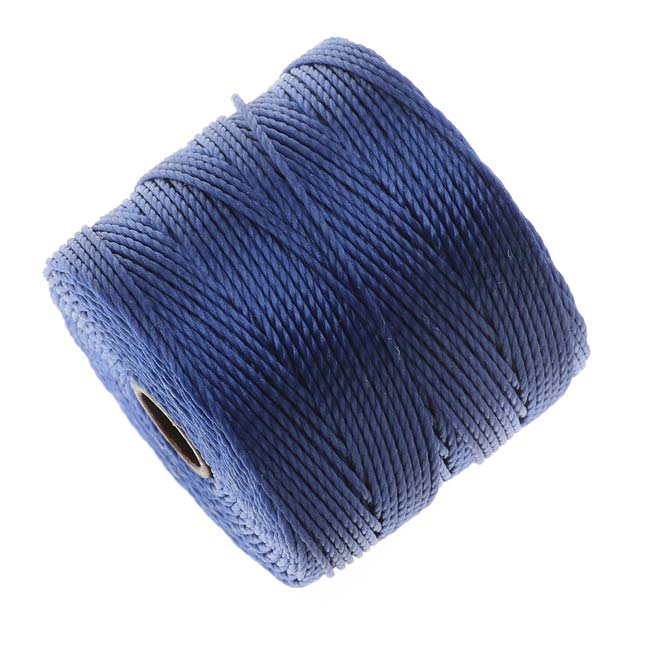 Super-Lon (S-Lon) Cord - Size #18 Twisted Nylon - Periwinkle Blue / 77 Yards