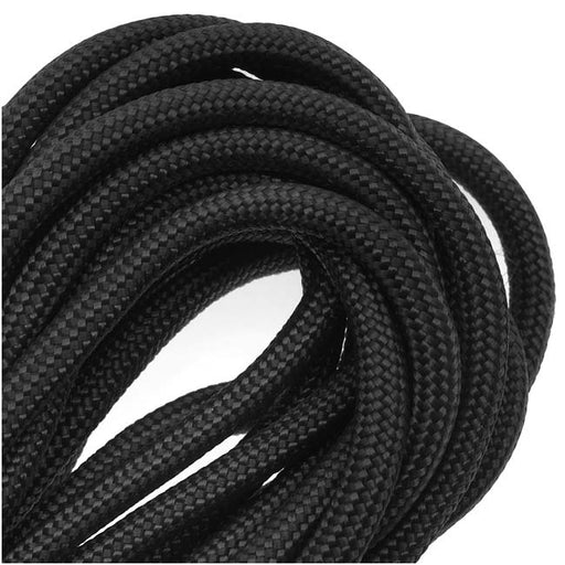 Semisoft Climbing Cord 10mm 10mm Black Silver Braided Nautical Paracord Black Braided Rope Cord Thick Necklace Rope S 40 275