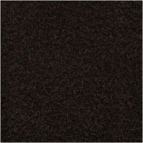 The Beadsmith Ultra Suede For Beading Foundation And Cabochon Work 8.5x4.25 In. - Coffee Bean