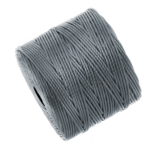 Super-Lon (S-Lon) Cord - Size #18 Twisted Nylon - Gray (77 Yard Spool)