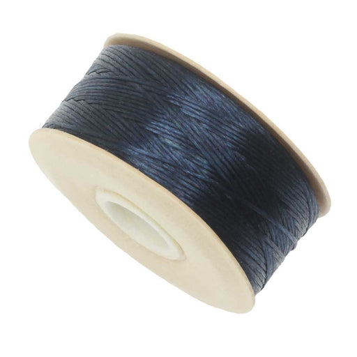 NYMO Nylon Beading Thread Size D for Delica Beads Dark Blue 64YD (58 Meters)