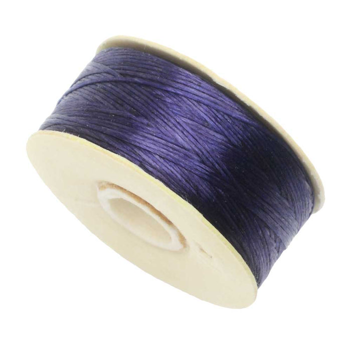 NYMO Nylon Beading Thread Size D for Delica Beads - Dark Purple 64YD (58 Meters)