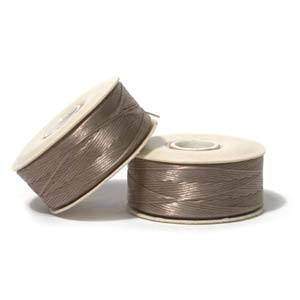 NYMO Nylon Beading Thread Size D for Delica Beads Sand 64YD (58 Meters)