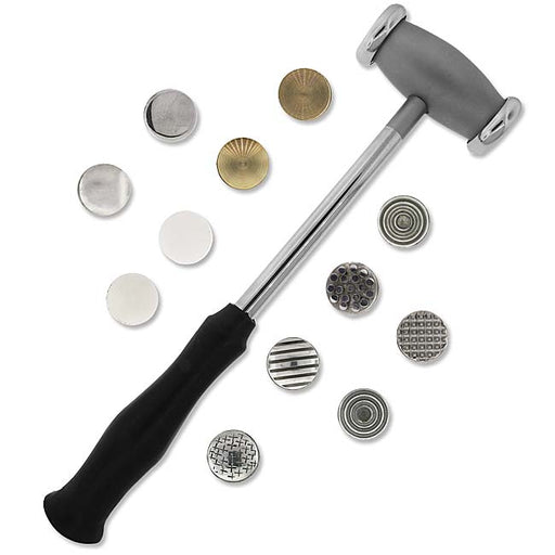 The Beadsmith Metalwork Hammer With Twelve Interchangeable Faces