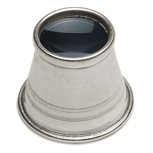 Aluminum Eye Loupe For Jewelers With 10X Magnification Power