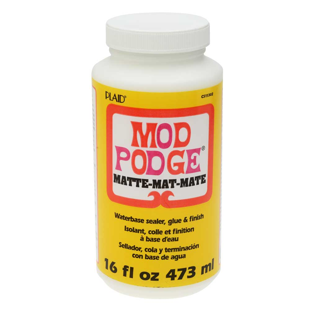 Mod Podge Matte All-In-One Decoupage Sealer / Glue / Finish (16 fl. oz. )