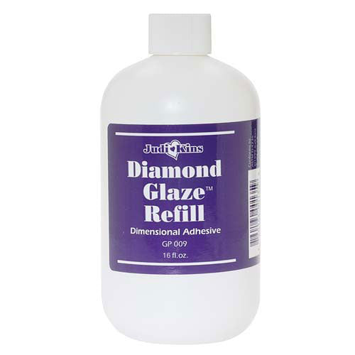 JudiKins Diamond Glaze Water Based Adhesive Refill (16 Fl. Oz.)