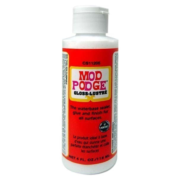 Mod Podge Gloss All-In-One Decoupage Sealer / Glue / Finish (4 fl. oz. )