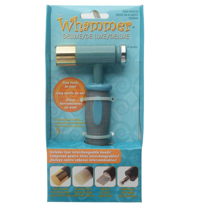 The Beadsmith Whammer Deluxe, 5-In-1 Hammer wilth Ergo Handle