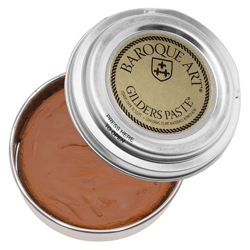 Baroque Art Gilders Paste - Rust - 1 Oz