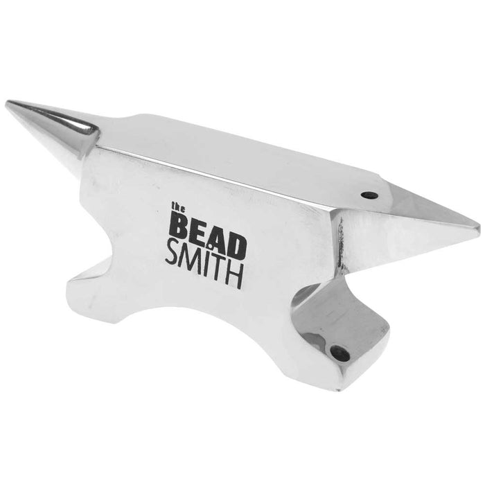 The Beadsmith Solid Stainless Steel Mini Jewelry Anvil Wire Work Tool