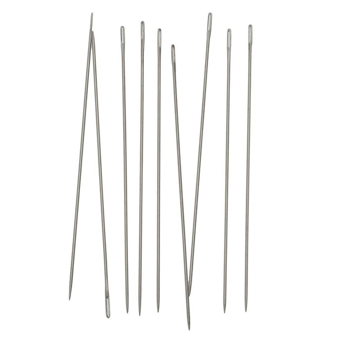 Beadalon Hard Needles for Wildfire Thread, 1.125 Inches Long, 10 Needles