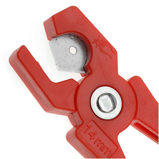 The Beadsmith Little Cut Flush Cutter For Rubber And Leather Cord