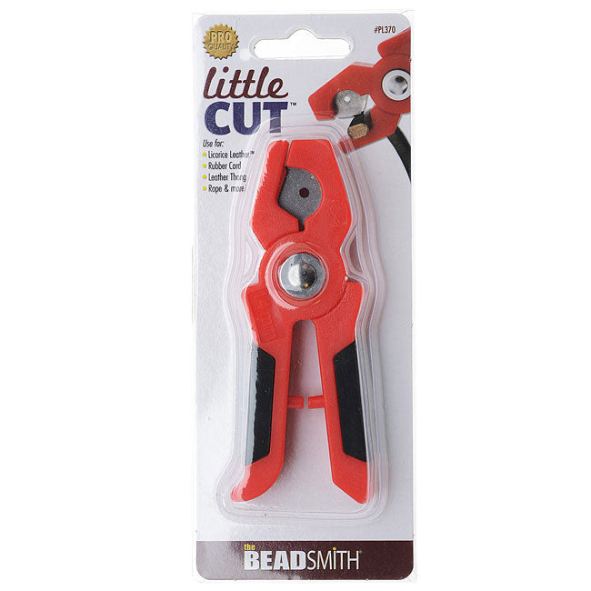 BeadSmith Little Cut Flush Cutter For Rubber And Leather Cord