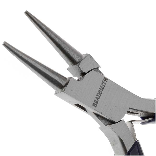 Beadsmith Jewelry Fine Round Nose Micro Pliers
