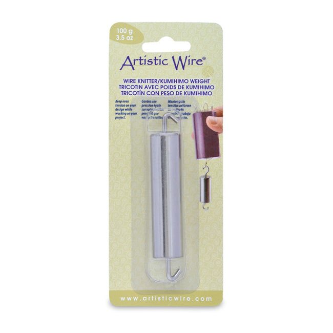 Artistic Wire, Kumihimo Weight, for Wire Knitter Tool, 3.5 Ounces / 100 Grams, 1 Piece