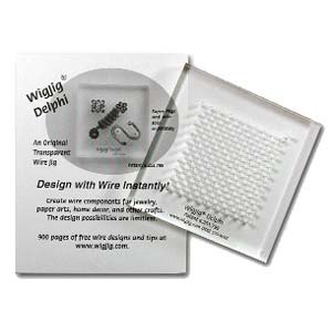 "Wig Jig ""Delphi"" Clear Acrylic Jewelry Wire Wrapping Tool"
