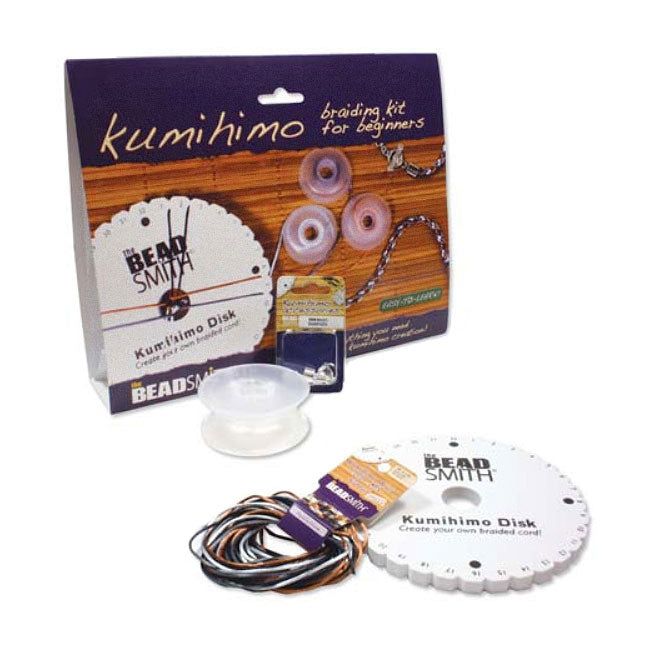The Beadsmith Kumihimo Braiding Kit For Beginners - Easy To Learn!