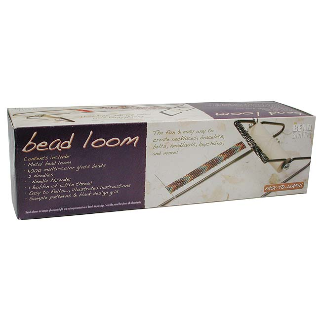 The Beadsmith Bead Loom Kit For Beginners - Weave Necklaces Bracelets And More!