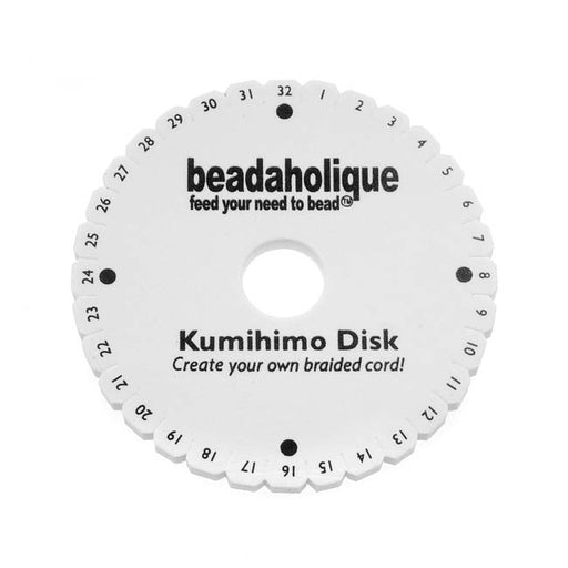 Kumihimo Round Mini Disc Disk For Japanese Braiding and Cording