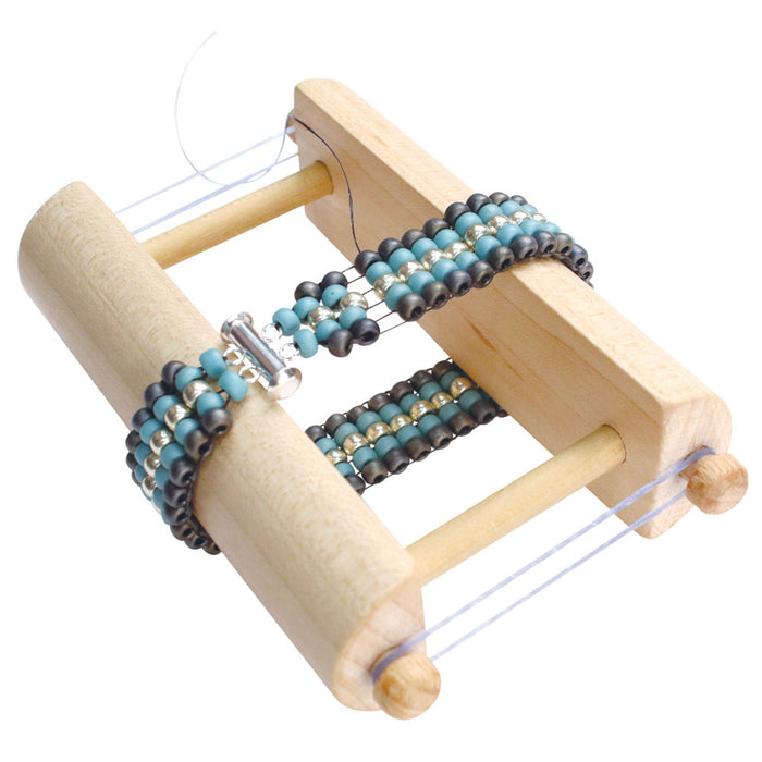 Deb Moffett-Hall's Endless Loom, Weave Bracelets with no Warp Ends to Tie Off, 1 Kit