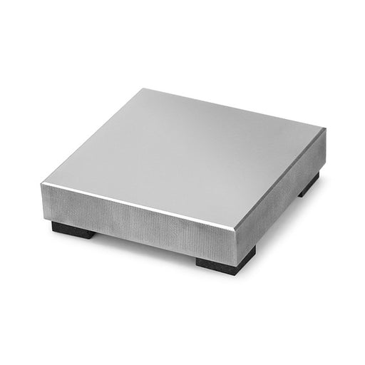 "ImpressArt Steel Stamping Block, Small Size with Rubber Feet 2x2"", 1 Piece, Steel"