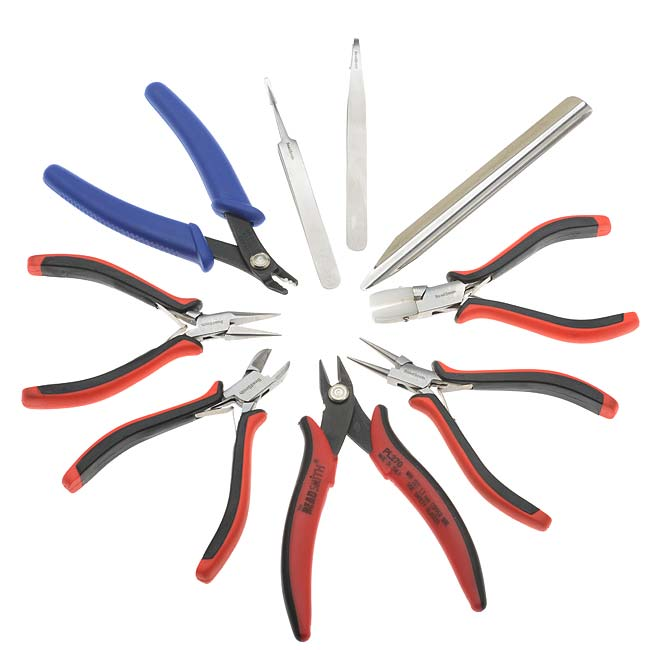 2 Piece Quality Split Ring Opening Pliers Jewellery Making Beading Crafts Tools
