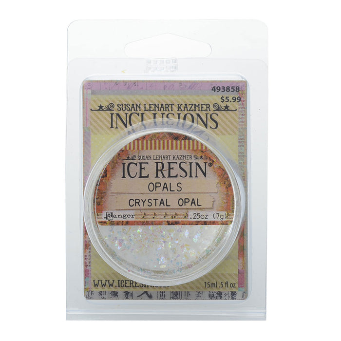Art Mechanique Inclusions, Shattered Mica for ICE Resin, 0.5 fl oz, Opal