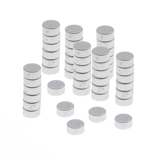 "Neodymium Rare Earth Super Magnets, For Hobby Crafts 3x1.5mm (1/8x1/16"") N35 Strength, 50 Pieces"