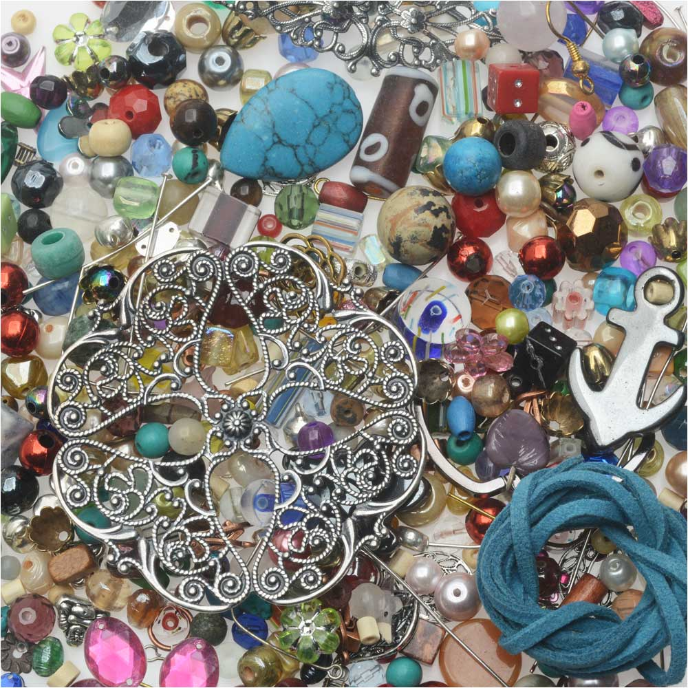 Mr. Kitty's Big Bead Bonanza™ Beads Mix - 1/2 Pound