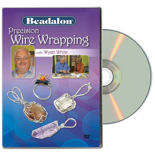 Beadalon Instructional DVD Precision Wire Wrapping With Wyatt White And Katie Hacker, 1 DVD