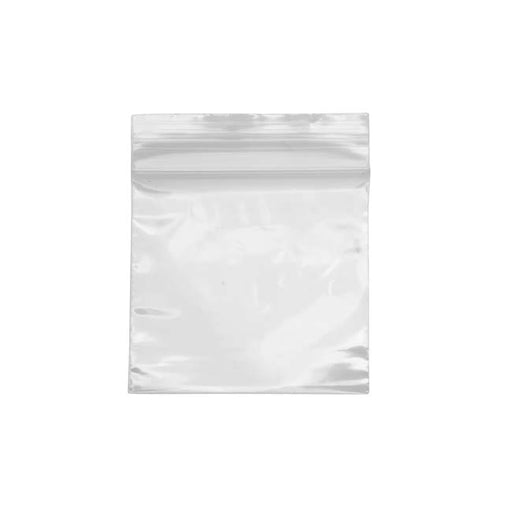 100 Self Sealing Plastic Bags Clear - 2x2 Inches