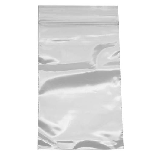 100 Self Sealing Plastic Bags Clear - 3 x 5 Inches