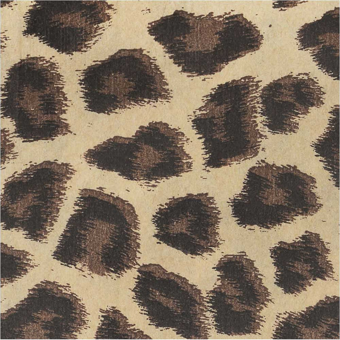 Package of 100 Gift Bags Leopard Print 6x 4