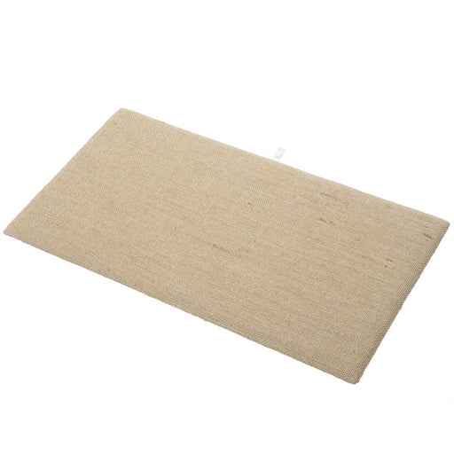 Jewelry Display Pad, Fits in Standard Size Trays 14.125 x 7.625 Inches, 1 Piece, Natural Linen Color