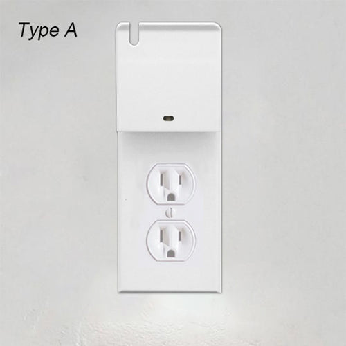 [2019 new with usb charging]-OUTLET WALL PLATE WITH LED NIGHT LIGHTS-NO BATTERIES OR WIRES [UL FCC CSA CERTIFIED]